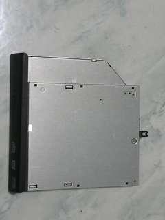 Laptop dvd rewritable drive
