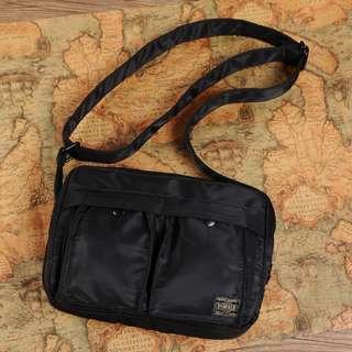Japan Yoshida PORTER Sling Bag – 2 Front Pockets