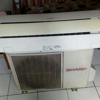 Ac SHARP second 0,5 pk 320 watt..garansi 3 bulan