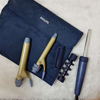 Pre-loved Philipps Curling Set