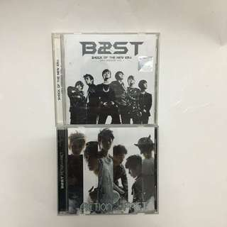 BEAST ALBUMS : SHOCK OF THE NEW ERA & FICTION AND FACT