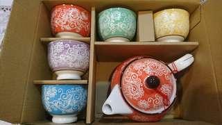 【瓷工坊】茶杯茶壺組
