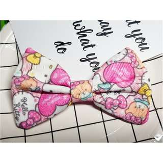 Hello Kitty Japan Sanrio  Handmade , Dog Cat Bowties Bow tie , Clothing , Accessories , Pet Collars , Bandana, gift , present
