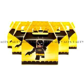 💥 Superheroes Lego Batman Party Supplies - candy boxes / goodie boxes/ gift box
