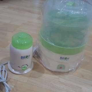 Bottle sterilized & warmer