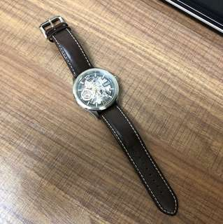 Arbutus 男士手動機械上鍊錶(48小時儲動力)