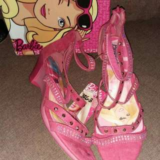 Barbie fuschia wedge size:12,4,5,6