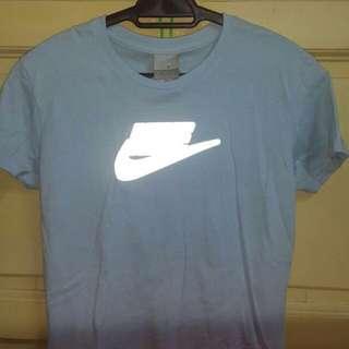 Light Blue Nike tshirt