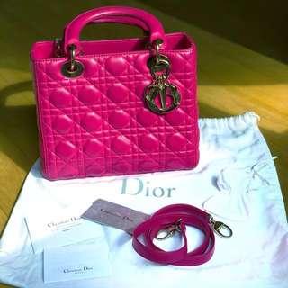 Lady Dior Medium Lambskin