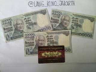 Uang kertas Rp 50.000 seri soeharto