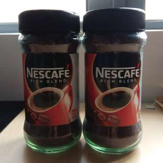 Brand New Nescafe Rich Blend Instant Coffee 200g 全新雀巢即溶咖啡 (2樽)