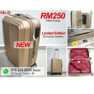 SK-II Original Brand New 22 Inches Luggage