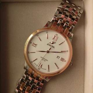 Enicar Rose-Gold-Tone Watch