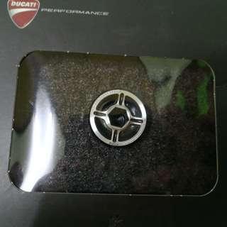 Ducati oil filter cap