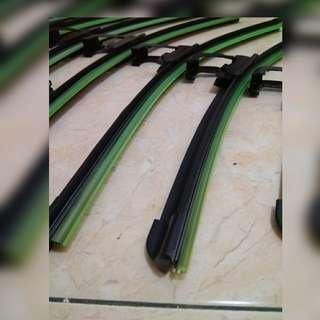 Soft silicone Wiper Rubber black ( AA ) Rubber