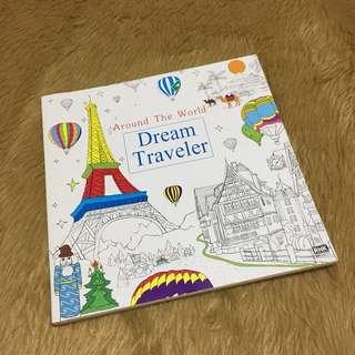 Dream Traveler Adult Coloring Book
