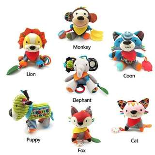 newborn plush development toys