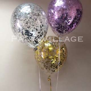Confetti Balloon with Helium