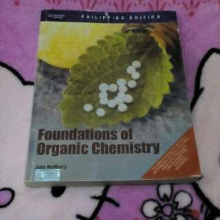 Foundation of Organic Chemistry