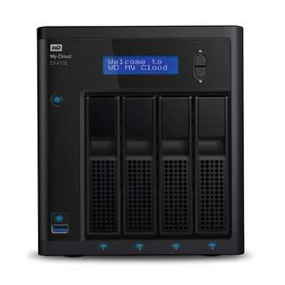 WD My Cloud EX4100 Diskless Expert Series 4-Bay Network Attached Storage - NAS