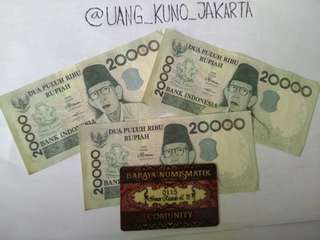 Uang kertas Rp 20.000 seri ki hajar Dewantara