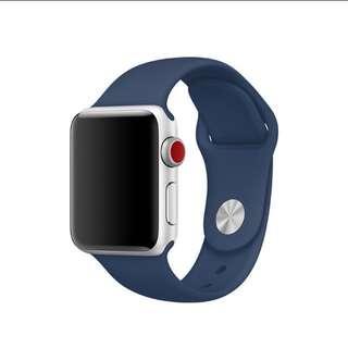 Apple Watch Sport band strap new series 3 - Blue Cobalt