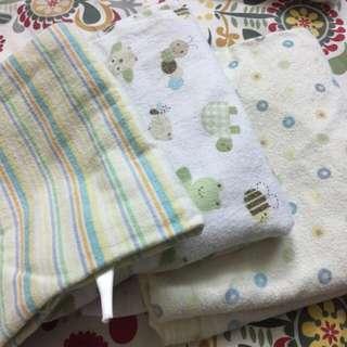 3 pc set Receiving blankets