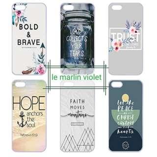 💜 Customise Phone Case - Bible Verses Version 2 Series