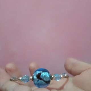Blue ocean rock bracelet