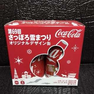 可口可樂 日本2018年69屆雪祭限定版(有盒)