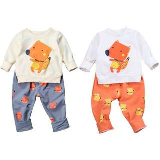 Kids Pyjamas fox cartoon characters
