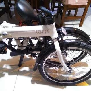 Folding bike Tern a7
