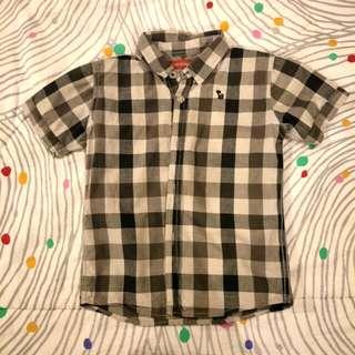 Padini Boy's Checkered Short Sleeve