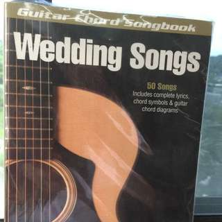 Guitar chords book for wedding songs
