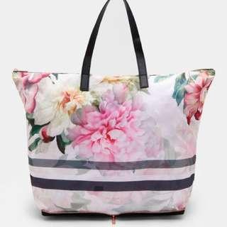 [preorder] Ted Baker foldaway shopper bag
