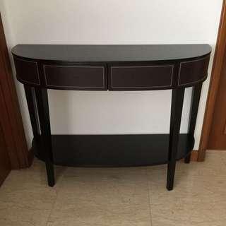 Dark Brown Console(reduced price!)