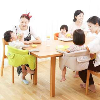 日本嬰兒餐椅可折叠便携式座椅多功能