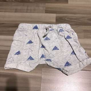bn seed heritage printed baby shorts 12-18 months