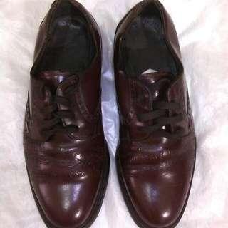 Sepatu kulit pantovel CLARKS ( Ori )