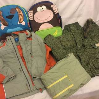 Boys winter jacket and pants