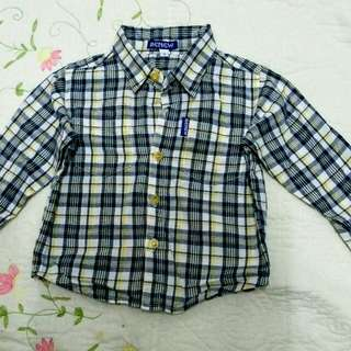 Baby boy long sleeve casual wear