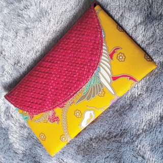 Clutch batik anyam 3