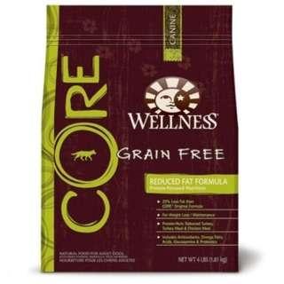 Wellness Core Reduced Fat Dog Food 24lb