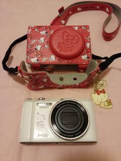 CASIO卡西歐ZR1500限量版kitty自拍翻轉相機