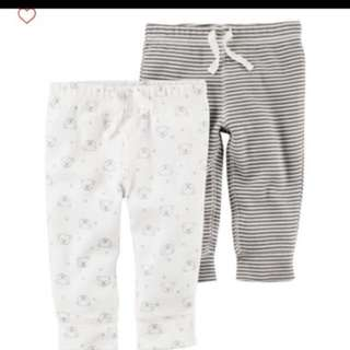 *6M* Brand New Carter's Babysoft Cotton Pants For Baby Boy