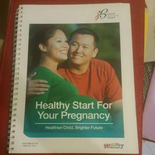 HPB Pregnancy Booklet giveaway