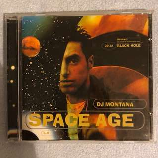 DJ Montana - Space Age CD Album