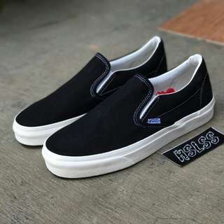 VANS VAULT OG LX SLIP-ON CLASSIC BLACK WHITE