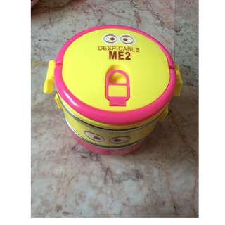 Descpicable Me Lunch box