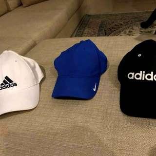 cap branded untuk sport or golf RM 30/cap (yg biru nike laku)